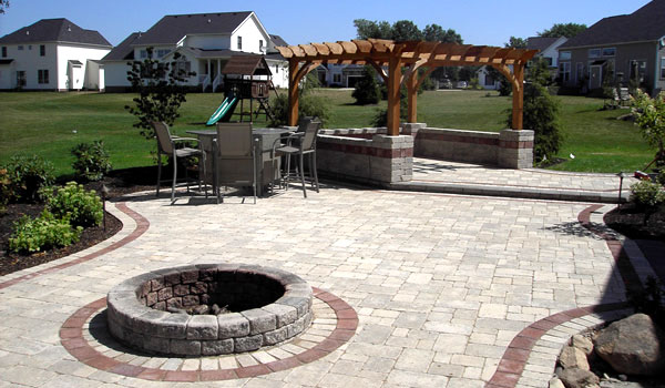 Affordable Patios U Firepits With Brick Patio Fire Pit